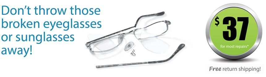 Hilco Eyeglass Repair Service - Eyeglass Repair